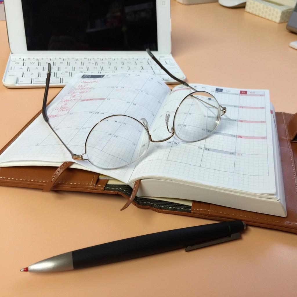 駆け込み購入はLAMYの4色ボールペンにiPad miniのキーボード、それと、メガネ