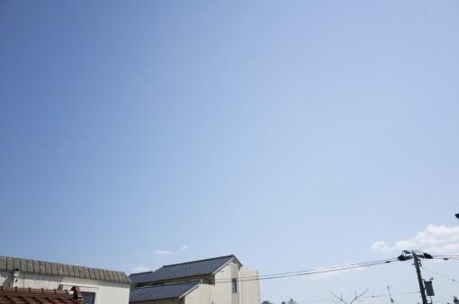 本日こんな空の金沢方面・・・
